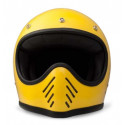 casque Dmd Seventy five 1975 jaune - Integral moto cross vintage