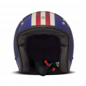 casque Dmd Captain - jet moto vintage