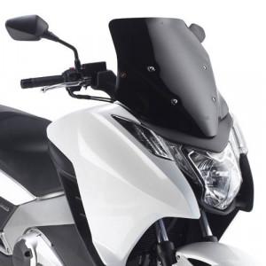 Bulle sport noire scooter Honda integra 700 750