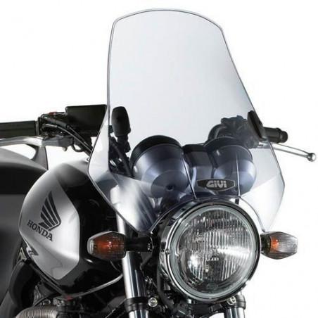 Pare brise universel moto roadster