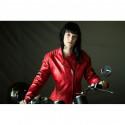 Blouson moto Difi Lady She Devil cuir vintage