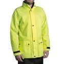 Ensemble de pluie moto jaune fluo Tucano Urbano Diluvio 534PG
