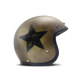 Casque DMD Carbone Smile Dark Gold