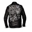 Blouson moto vintage biker DMD Riding