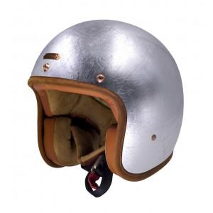 Casque Hedon Hedonist Silver Lining - Casque moto argenté