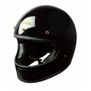 Casque Hedon Heroine CLASSIC SIGNATURE Black - Intégral moto vintage