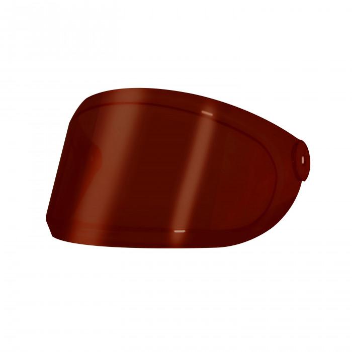 Visi re teint e rouge pour casque moto hedon heroine red for Housse pour moto