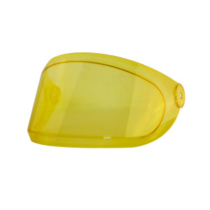 Visière jaune Hedon Heroine Racer AMBER