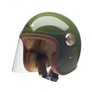 Casque Hedon Epicurist vert CACTUS - Jet moto vintage