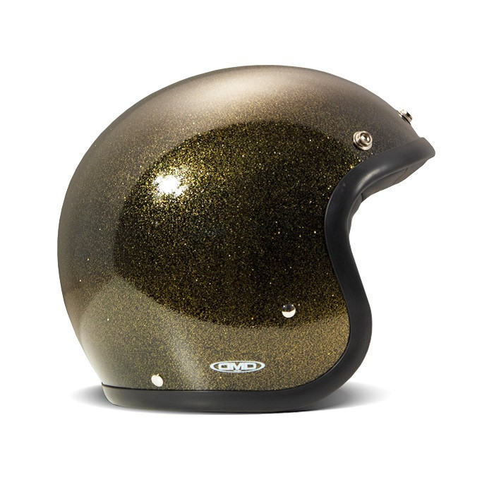 Casque DMD Glitter bronze - casque à paillettes