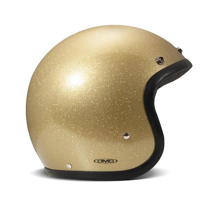 Dmd glitter gold - Casque à paillettes or