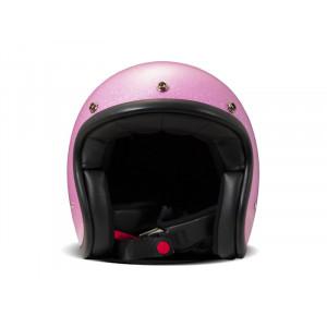 Casque DMD Glitter pink- Casque à paillettes roses