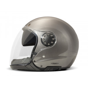 DMD A.S.R Metallic grey - Casque moto mudulable