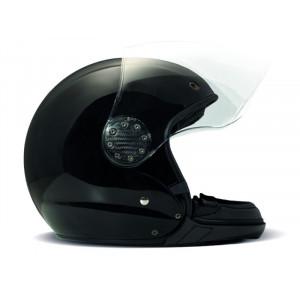 Casque DMD A.S.R black moto modulable noir 1