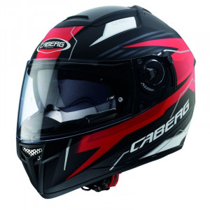 Casque Caberg Ego Quartz rouge