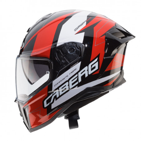 Casque integral Caberg Drift Evo Speedster rouge