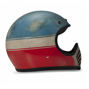 Casque Dmd Seventy five 75 Two strokes Intégral moto cross vintage 1