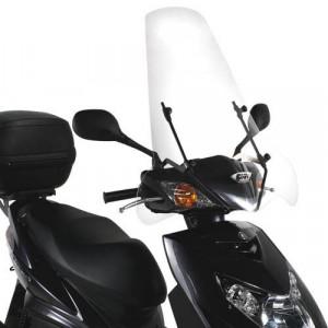 Bulle Givi Mbk Flame X - Yamaha Cygnus X