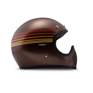 Casque Dmd Seventy five 75 WAVES Intégral moto cross vintage 1