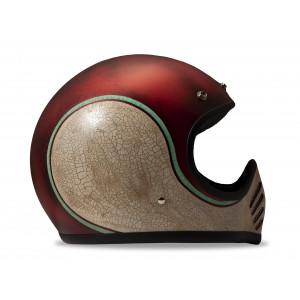 Casque Dmd Seventy five 75 Swan Intégral moto cross vintage 1