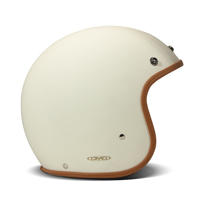 Casque Dmd vintage Oro Roma jet scooter moto 1