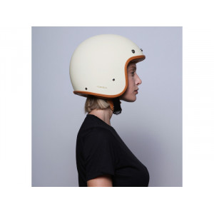 Casque Dmd vintage Oro Roma jet scooter moto 6