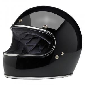casque biltwell gringo noir gloss black