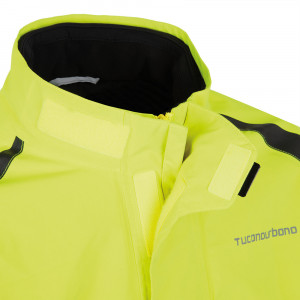 Veste pluie moto jaune Tucano Urbano Diluvio Pro 574G