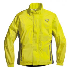 Veste de pluie moto Difi Fiji jaune