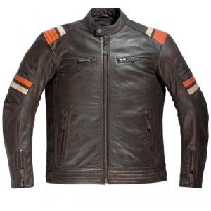 Veste cuir moto Difi Springsteen