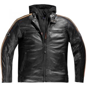 Veste cuir moto Difi New Orleans