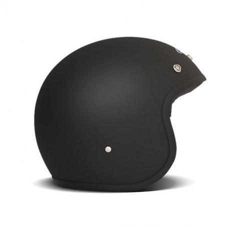 Casque Dmd jet vintage noir mat