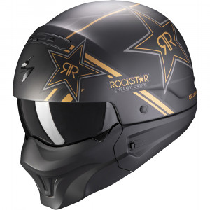 Casque Scorpion Exo-Combat Rockstar Gold