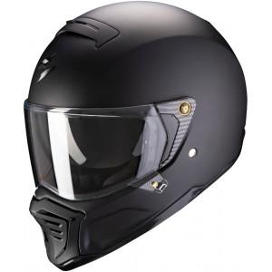 Casque Scorpion HX1 noir mat intégral moto