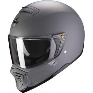 Casque Scorpion HX1 gris mat intégral moto