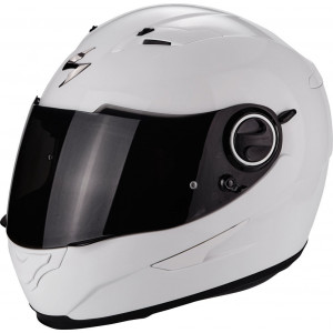 Casque Scorpion Exo-490 blanc