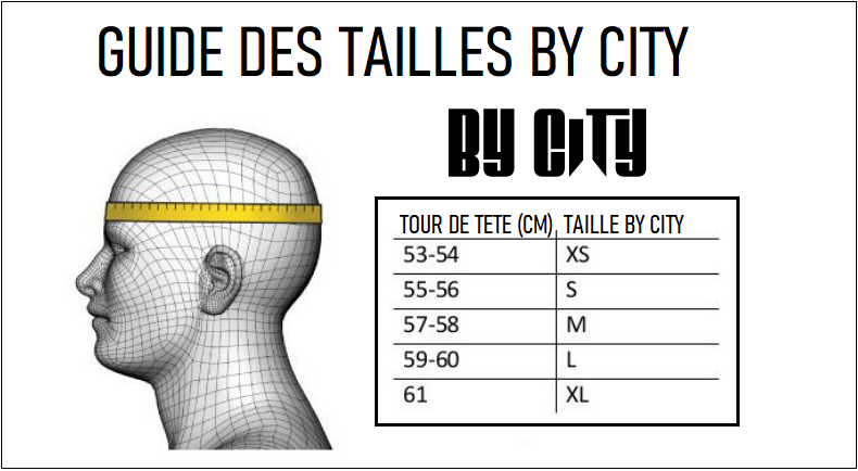Guide taille casque By City